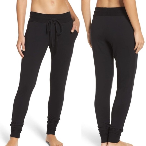 Free People Pants - NEW Free People movement black joggers